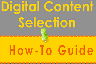 Selecting Digital Content For Your Educational Institution