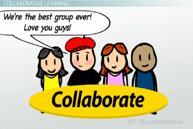 Collaborative Review Teaching : Collaborative vs cooperative learning