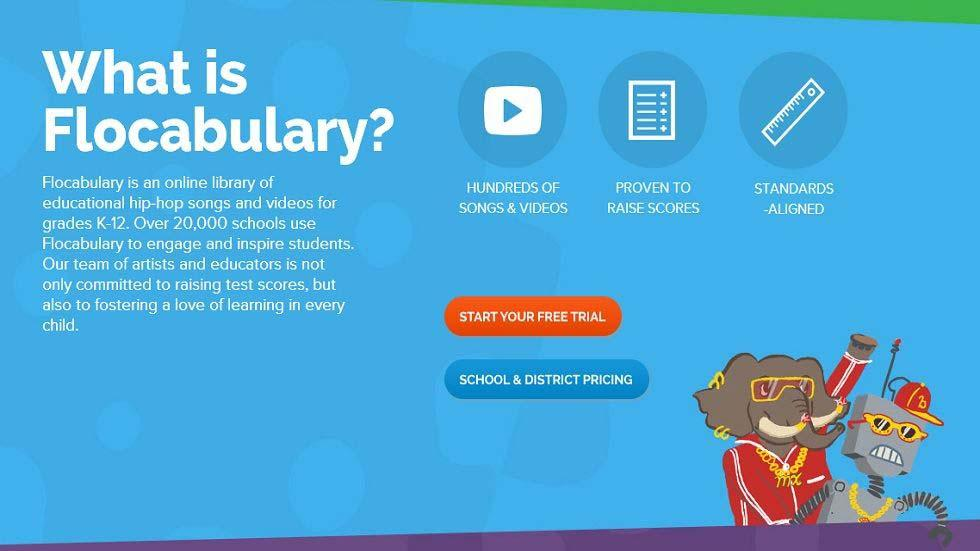 Flocabulary: A Great Online Library of Songs, Videos and Activities for Grades K-12