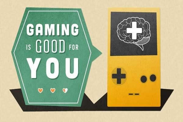Gaming is Good for You (Infographic)
