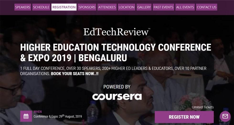 Higher Technology and Education Conference & Expo for the Institutions of Bengaluru