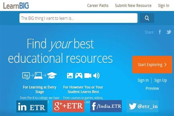 LearnBIG - Find Your Best Educational Resources Easily