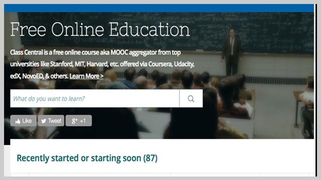 List of Over 160 Free Online Courses/MOOCs Starting in January 2014