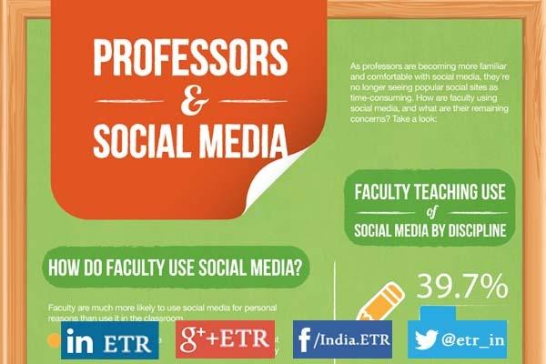 [Infographic] How Do Faculties Use Social Media