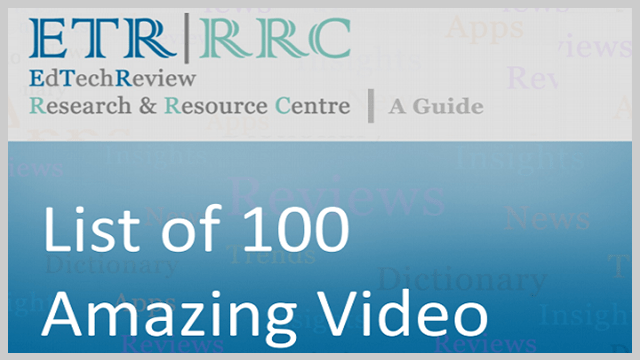 List of 100 Amazing Video Websites for Educators