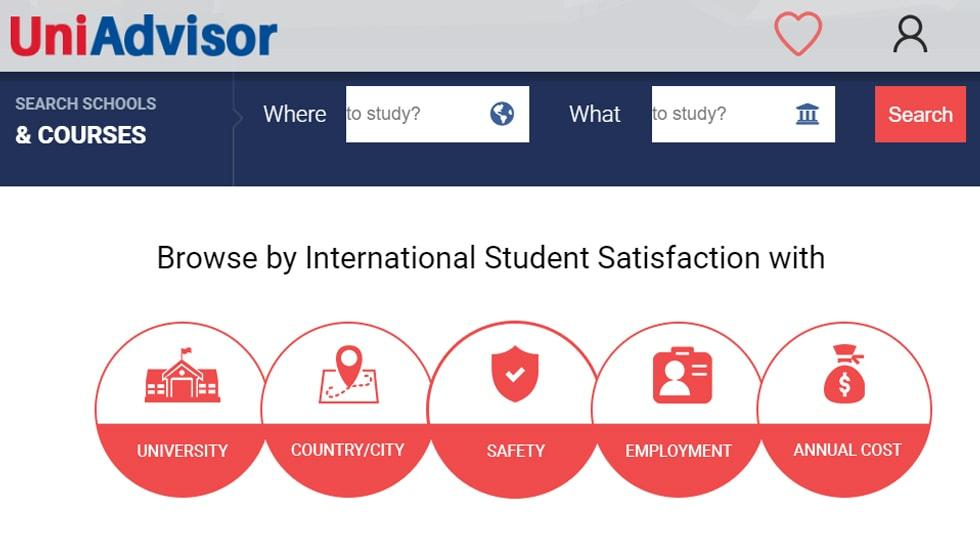 UniAdvisor: A One-stop Platform to Search, Compare Courses, Universities and Study Destinations Worldwide
