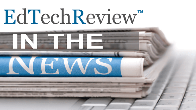 ETR in News - EdTechReview