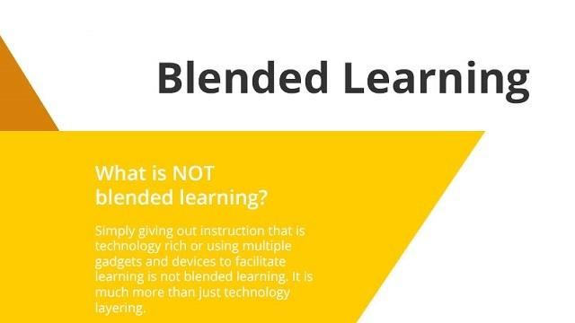 [Infographic] Definition of Blended Learning ...
