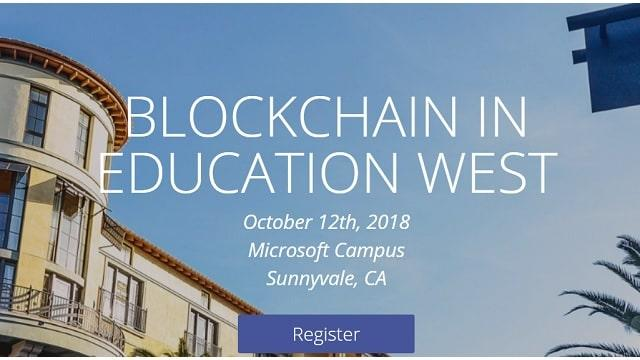 Blockchain in Education Conference - East & West