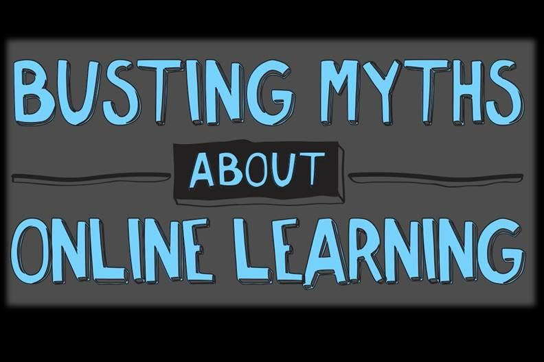 [Infographic] Busting Myths About Online Learning