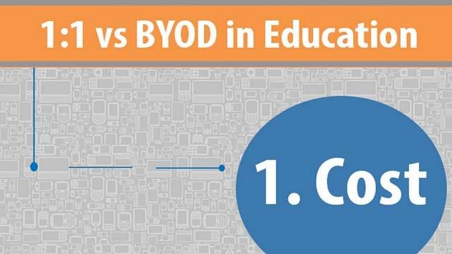 [Infographic] 1:1 vs BYOD in Education