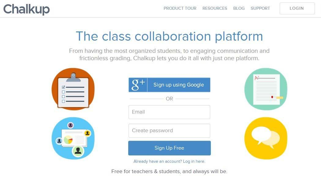Classroom Resources, Management, and Collaboration in a Single Platform