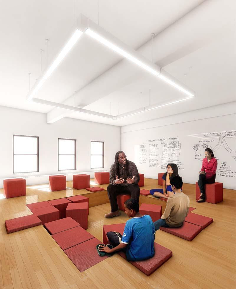 Classroom Design Project : A new architecture redesigning nyc public schools for