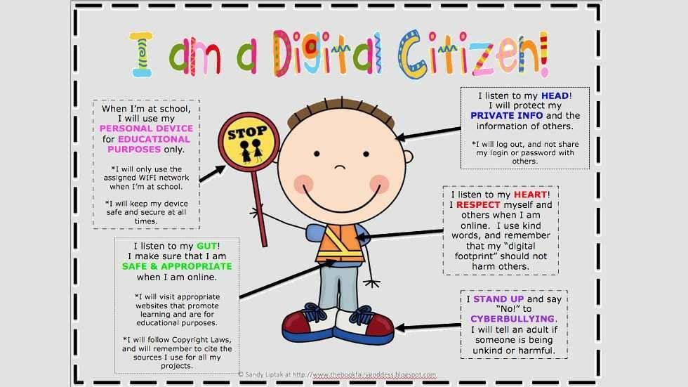 Students learn how to be 'good digital citizens' - The ...