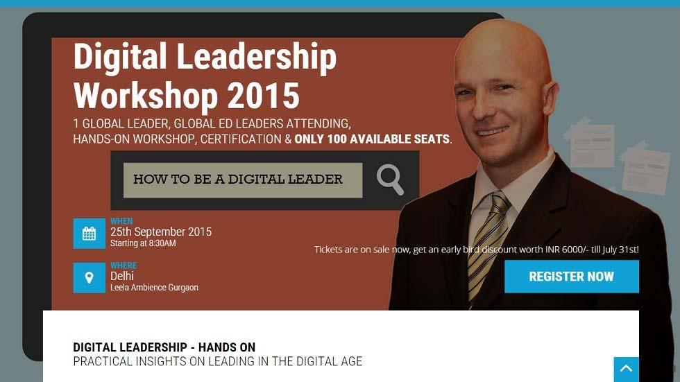 Leading in the Digital Age: Hands-On Workshop & Certification for All Educational Leaders