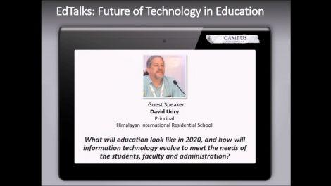 [Webinar] EdTalk - The Future of Technology in Schools Featuring David Udry
