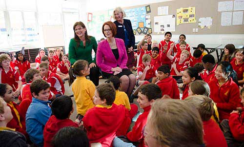 Julia Gillard Shares Her Vision for Education in Australia