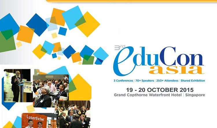 EduCon Asia Returns for its 3rd Year | 19-21 October 2015 | Singapore