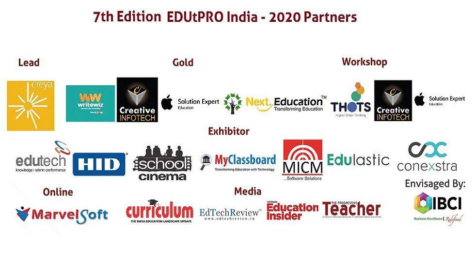 EDUtPRO INDIA – 2020 | South India | November  7th & 8th , 2014 Bangalore, Karnataka