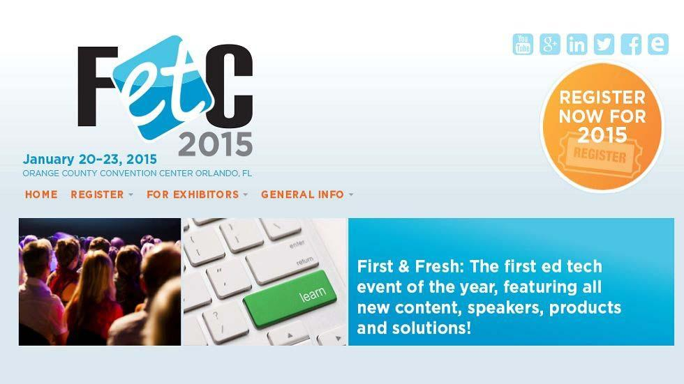 Be a Speaker at FETC 2015 - Submit your Proposal Today!