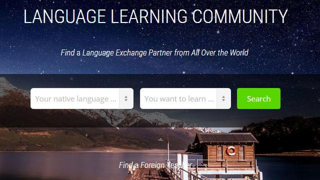 Learn a Language with the Community Using Fluent Land