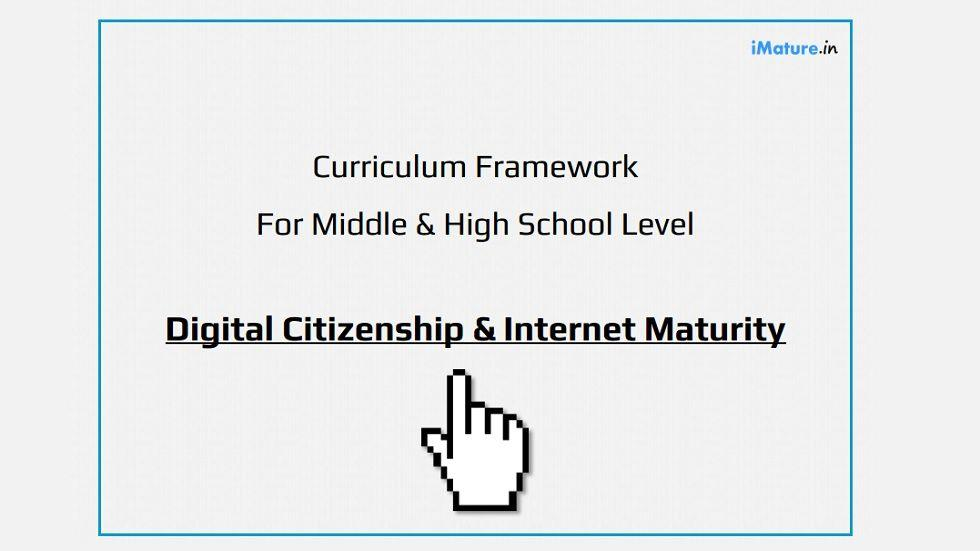Digital Citizenship Curriculum Framework for Schools