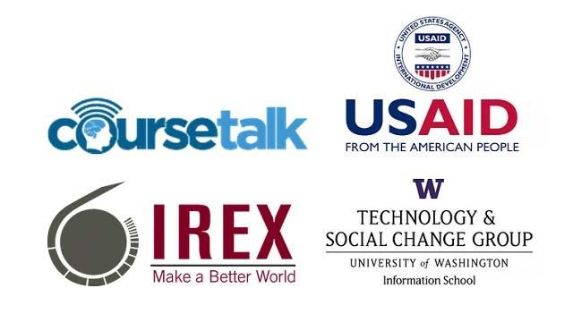 USAID, CourseTalk, IREX and TASCHA Launch $1.55 Million Initiative to Bring Online Education to Developing World