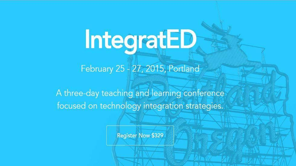 IntegratED - Teaching and Learning Conference focused on Technology Integration Strategies