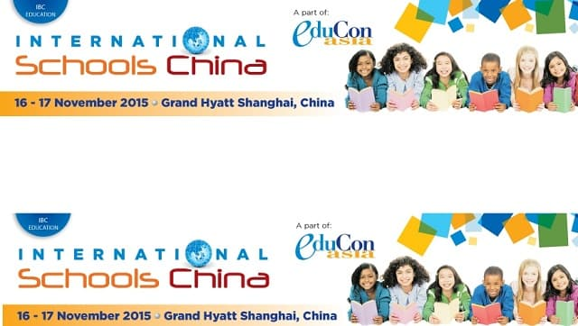 International Schools China 2015 Conference | 16 – 17 November 2015