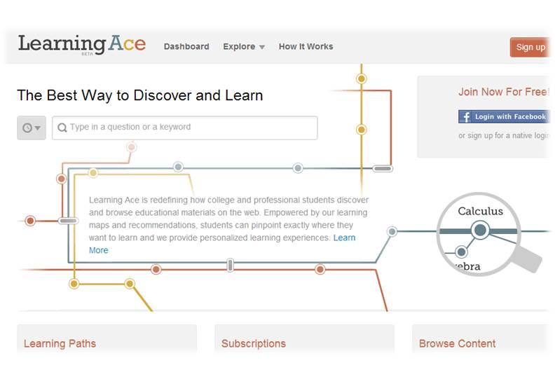 Learning Ace: Search, Discover, Learn & Share Educational Materials