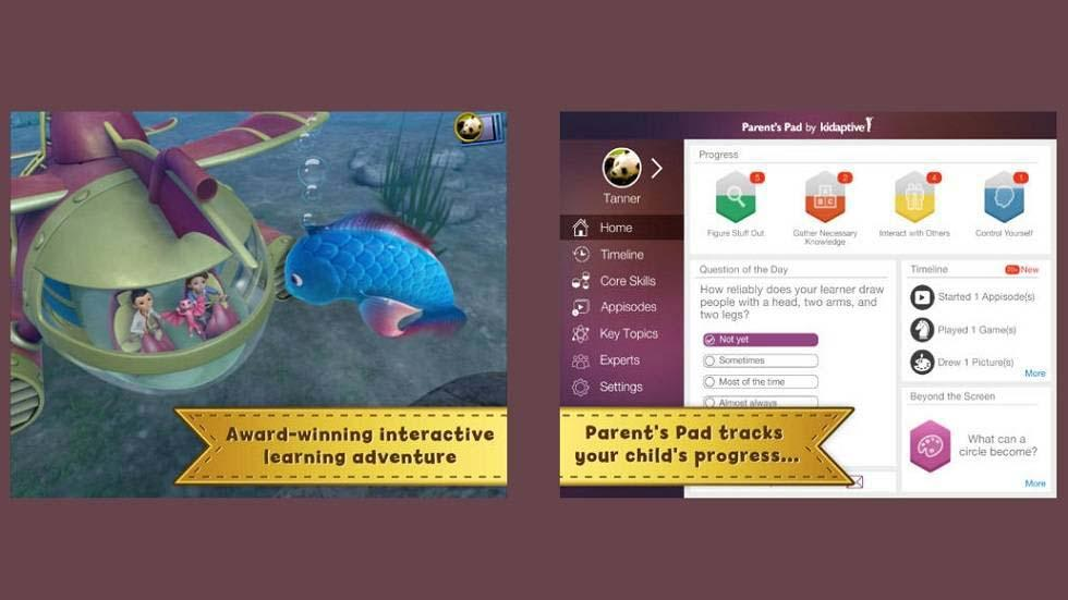Leo's Pad: Series of Interactive Animated Stories for Preschoolers