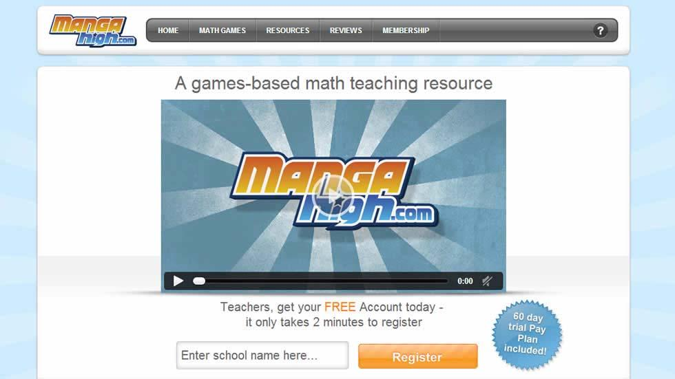 MangaHigh - A Game Based Online Math Learning Platform ...