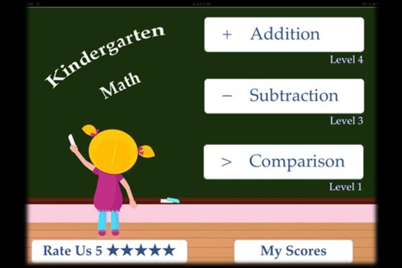 Math Tools for Kindergarten Students