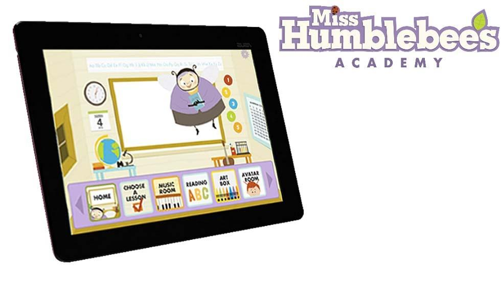 ISTE 2014 - Miss Humblebee Hits the Mark with Early Childhood Technology