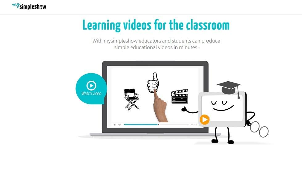 "mysimpleshow Kicks Off a New Era of Blended Learning With Free ""Classroom""  Solution. The online video ..."