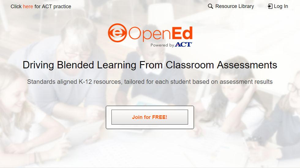 OpenEd: Standards aligned K-12 resources, Explored Yet?