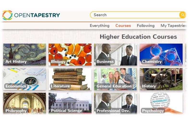 Open Tapestry - Your Educational Content Search Ends Here