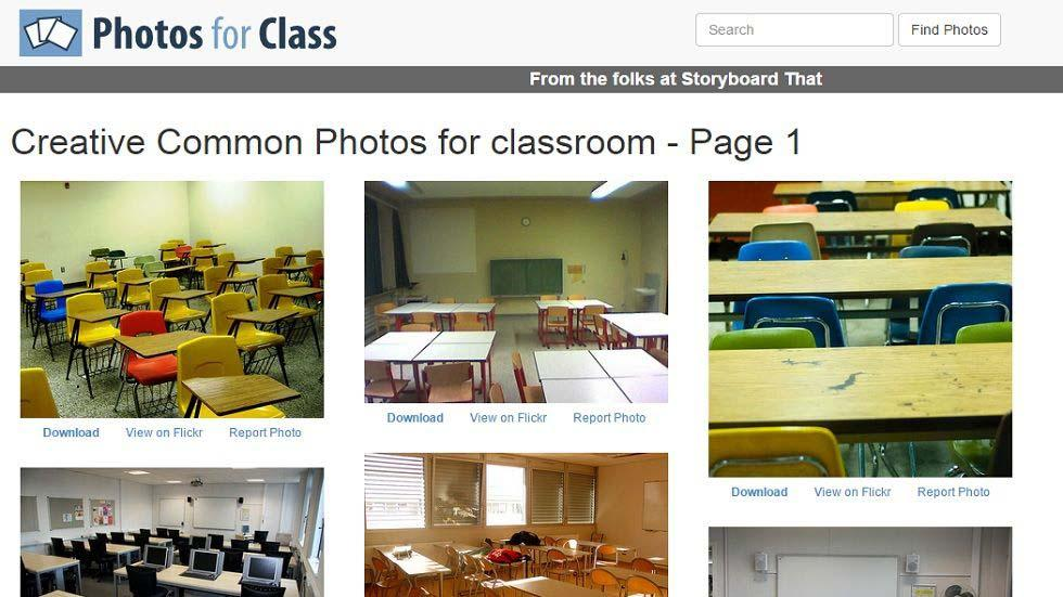 How Teachers Can Find and Download Safe Creative Common Images for use in the Classroom