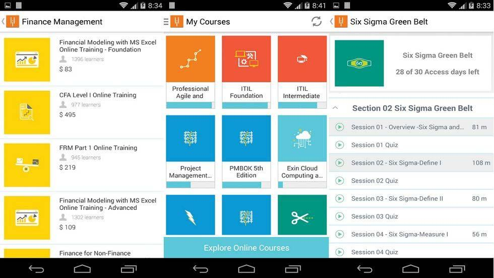 Simplilearn takes Professional Certification Mobile