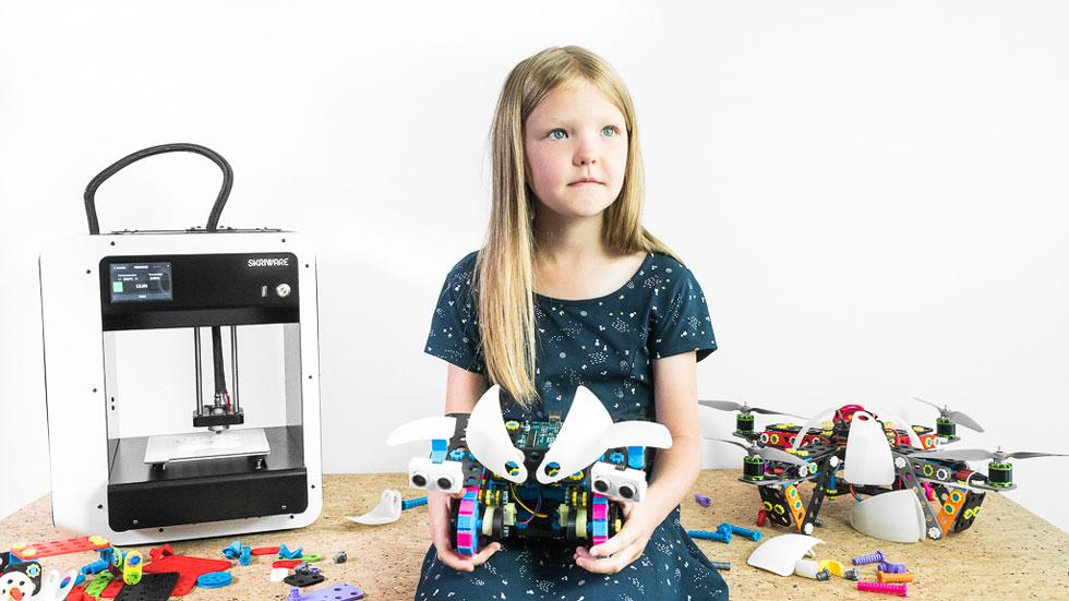 Skriware and Dartmouth College Team Up to Deliver 3D Printing and Robotics Education