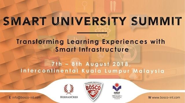 The Smart University Summit: To Move Forward with the Smart Infrastructure