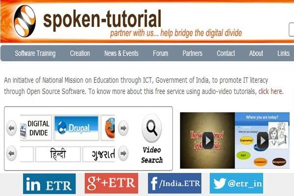 Spoken Tutorial: Free Resource for IT literacy through Open Source Software