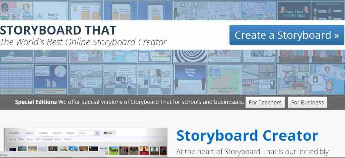 Storyboard That : Online Storyboard Creator - Edtechreview™ (Etr)