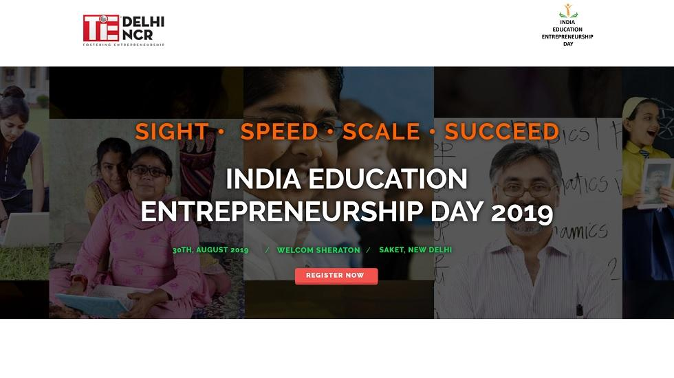 Tapping the Potential of India's US$ 100 Billion Education Sector, TiE Delhi-NCR to Host India Education Entrepreneurship Day