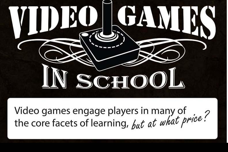 Infographic Ideas infographic video games : Infographic] Video Games in School: Pros and Cons - EdTechReview ...