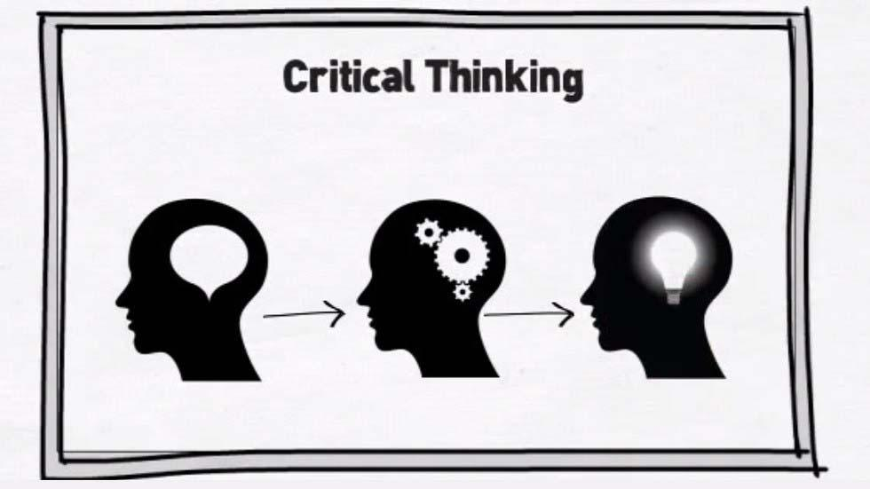 thinking creatively and critically means