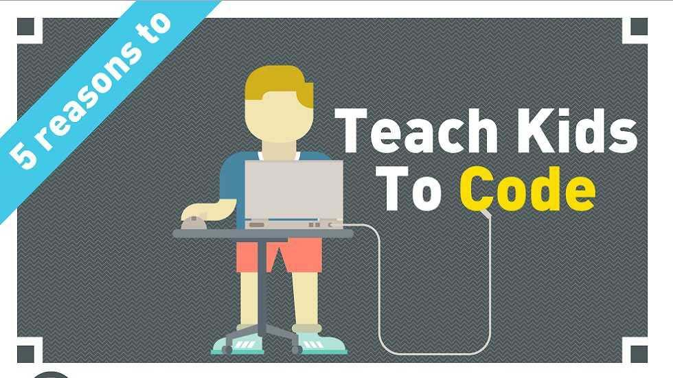 [Infographics] Five Reasons to Teach Kids to Code