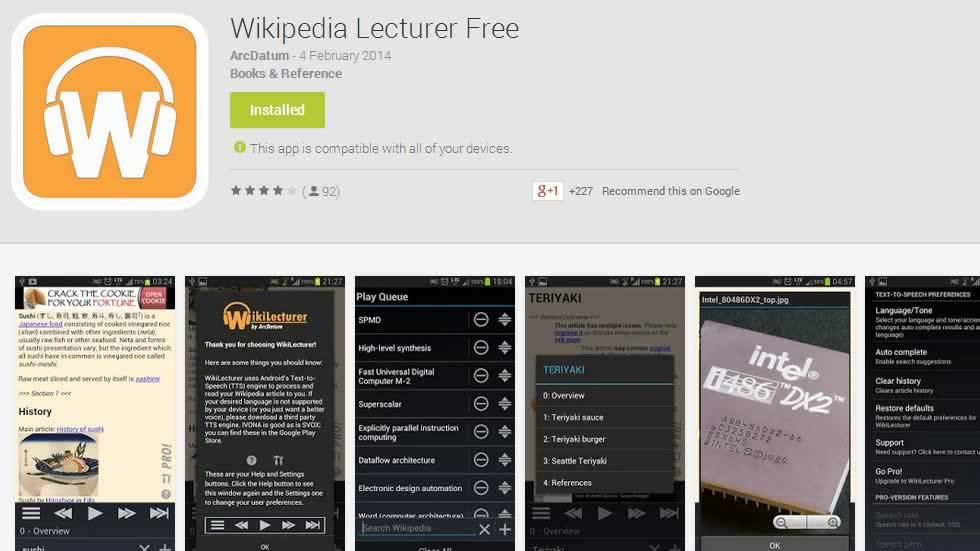 Wikipedia Lecturer: The Wiki Reader
