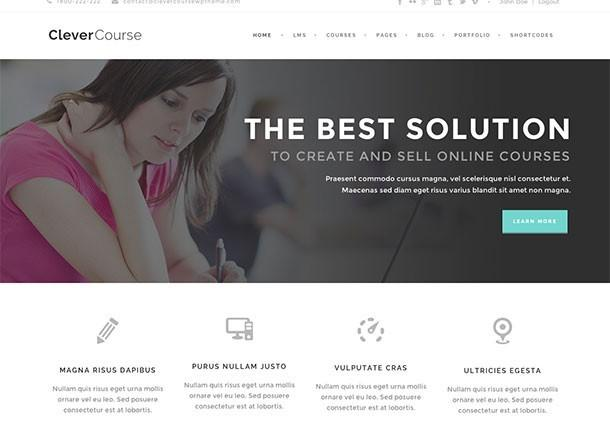 wordpress-online-course-theme
