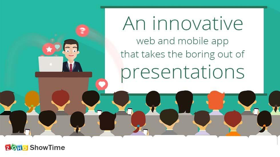 Zoho ShowTime: An Innovative Software That Takes Boring Out of Your Presentations